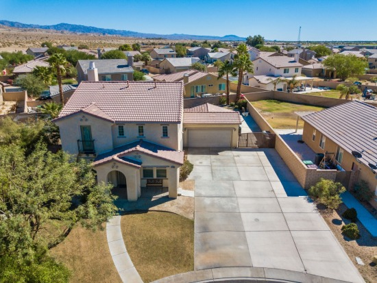 Aerial - 37630 Beeston Ct Indio