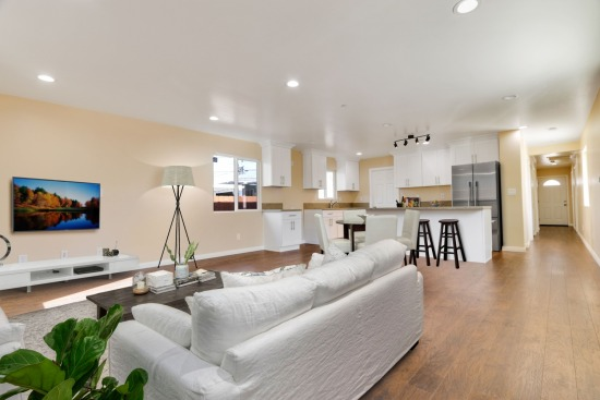 virtual staging - 707 W 85th St