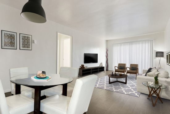 Virtual Staged - 2727 6th St Unit 307 Santa Monica