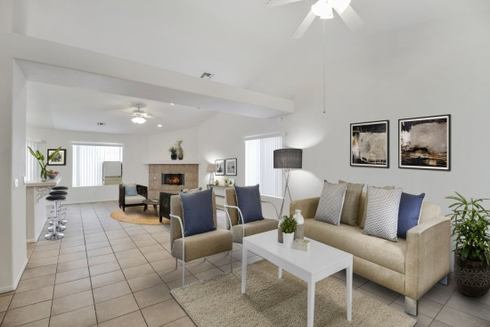 virtual staging - 68272 Calle Blanco