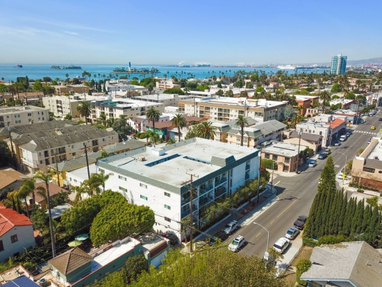 Aerial - 226 Grand Ave Long Beach