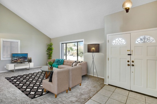 Virtual staging - 15053 Ziegland Drive