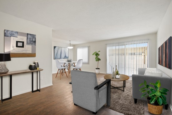 virtual staging - 4553 Willis Ave Units 102 And 302