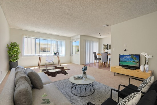 virtual staging - 4573 Willis Ave Unit 302