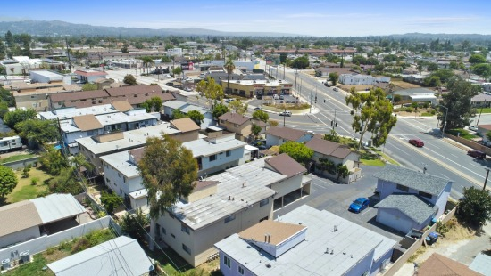 Aerial - 11757 Colima Rd Whittier