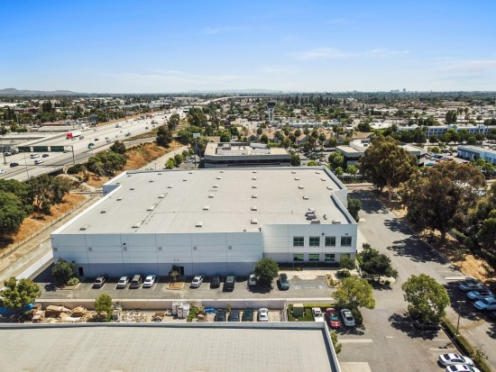 Aerial - 888 W Crowther Ave Placentia