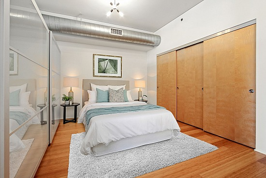 virtual staging - 1111 S Grand Ave Apt 806